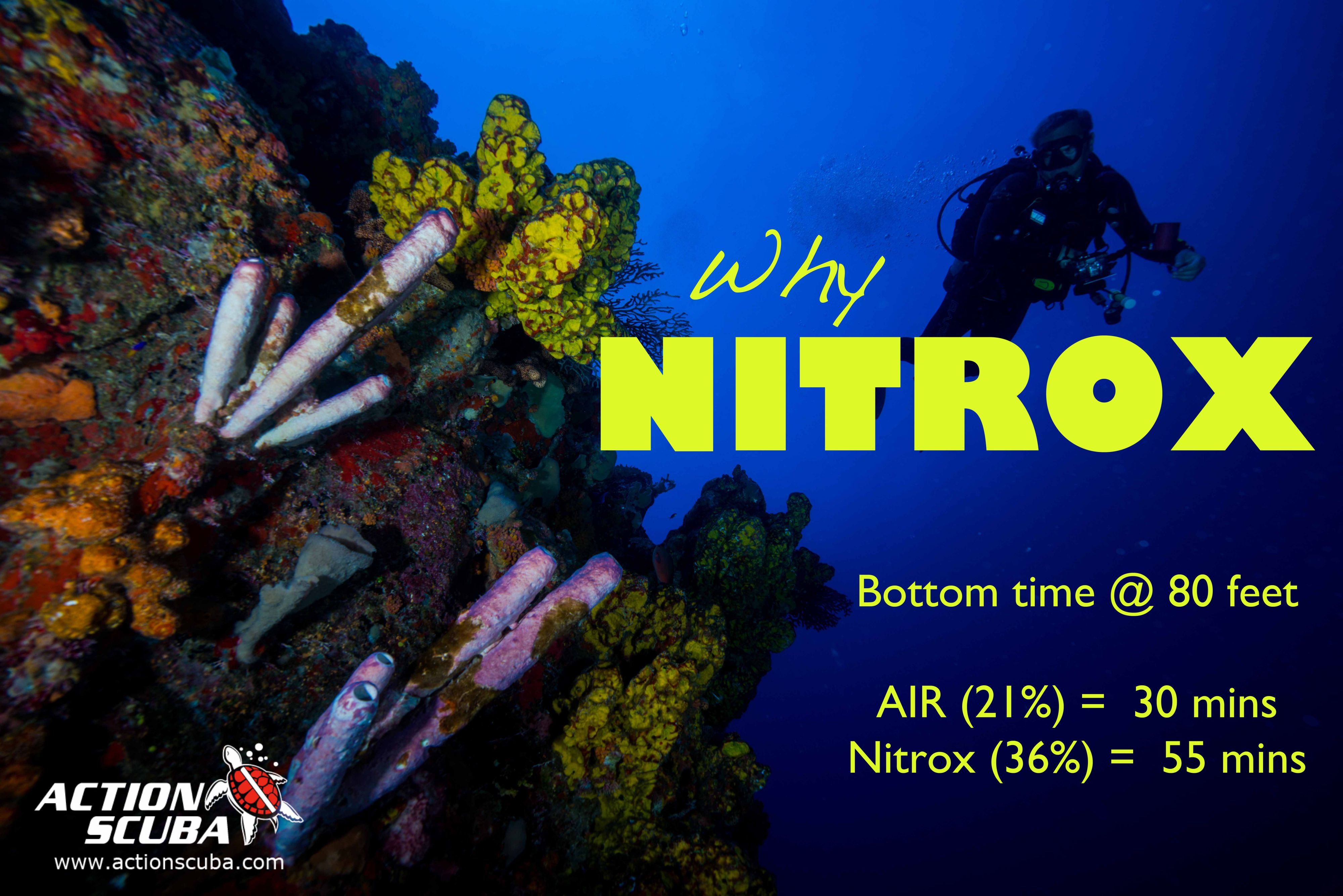 PADI Enriched AIr Nitrox specialty course