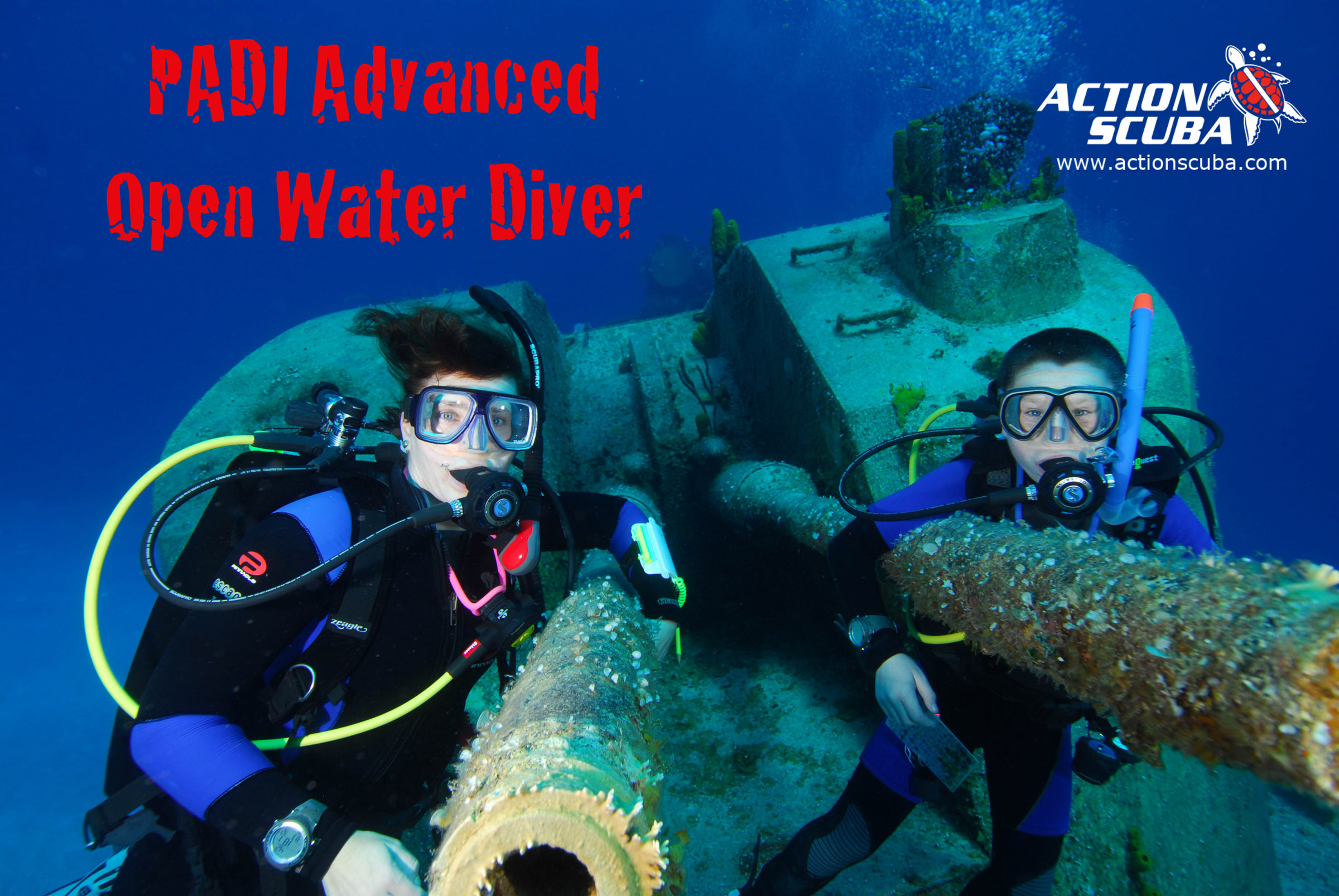 Montreal scuba diving padi advanced open water course download the brochure xflitez Gallery