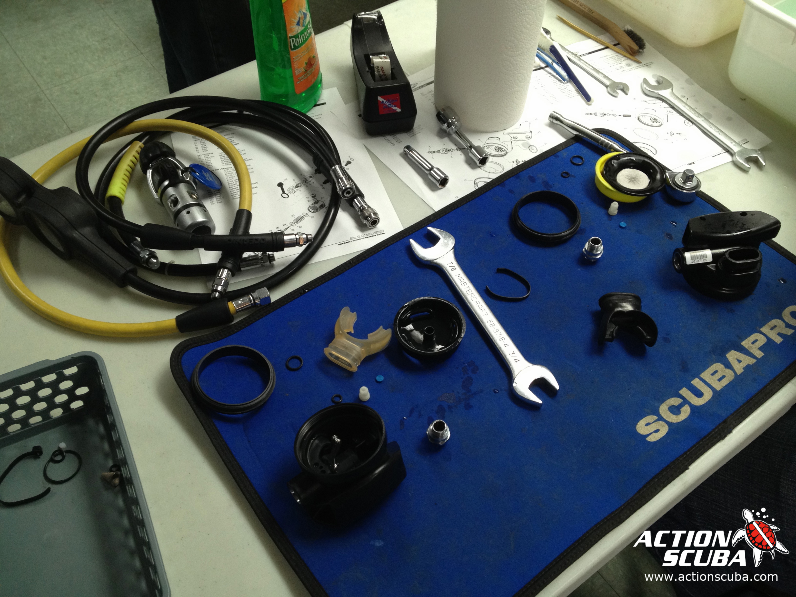 Montreal Diving Action Scuba Padi Equipment Specialist Specialty Course Electrical Wiring Courses